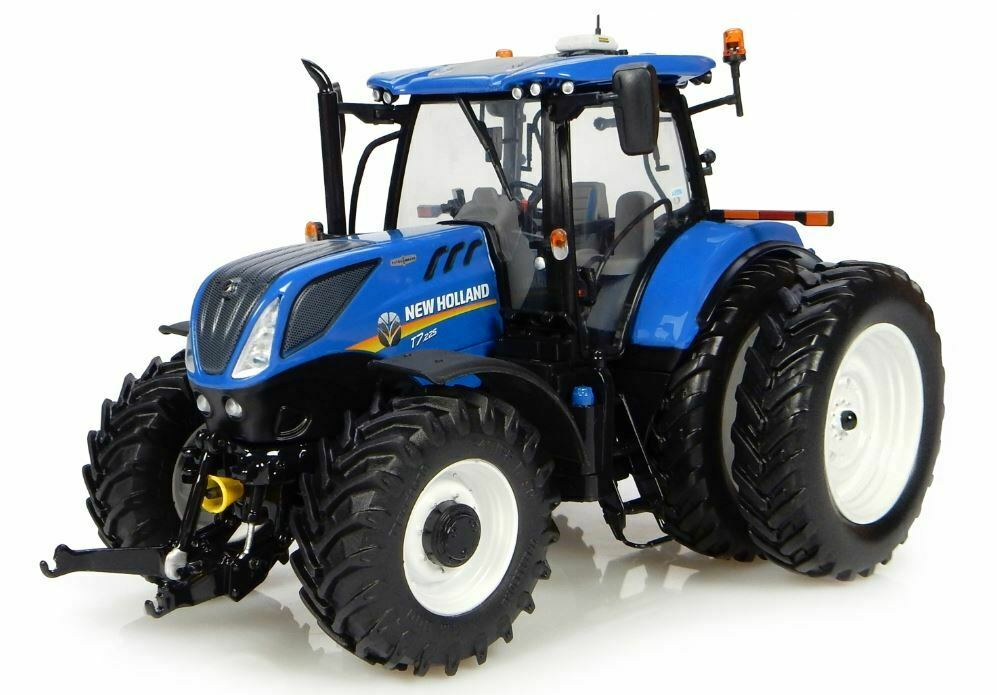 New Holland T7.225 Tractor Duals 1 32 Die Cast Universal Hobbies UH4962