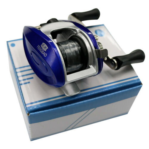 Baitcasting Fishing Reel with Line Right Hand 3 BB 3.3:1 Lightweigh simple Reel