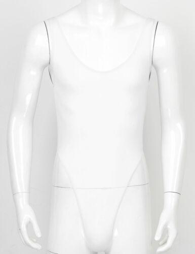 Sissy Men/'s Smooth High Cut Ultra-thin Thongs Bodysuit Leotard Briefs Underwear