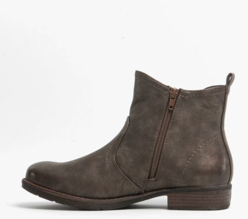 Romika WENDY 06 Ladies Winter Vegan Friendly Stylish Chelsea Ankle Boots Brown