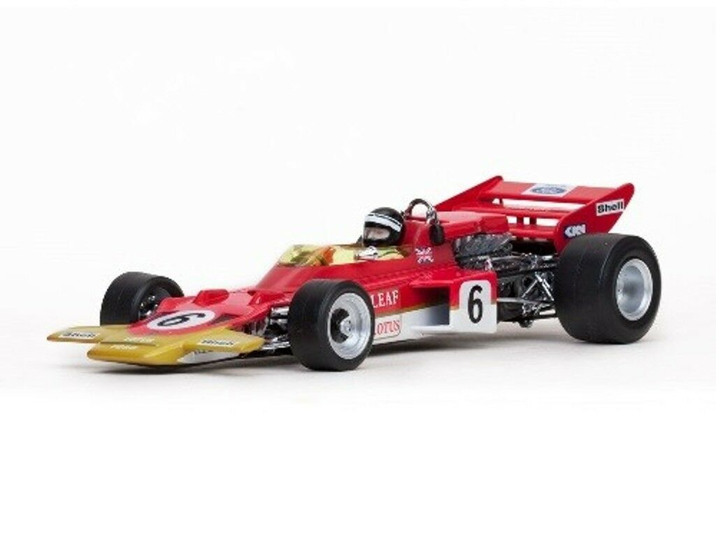 QUARTZO 18270 18272 LOTUS 72C F1 model car E Fittipaldi & J Rindt 1970 1 18th