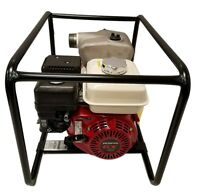 Vox 5.5 Hp Honda Gx160 Industrial 2 Trash Pump 198 Gpm Hose Kit Included