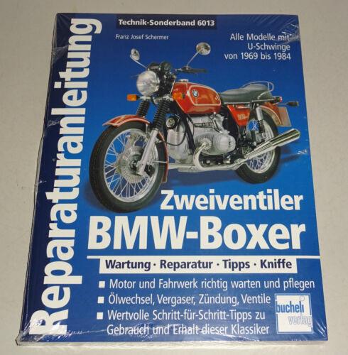 1 von 1 - Reparaturanleitung BMW  Boxer Zweiventiler mit U-Schwinge - 1969 bis 1984!