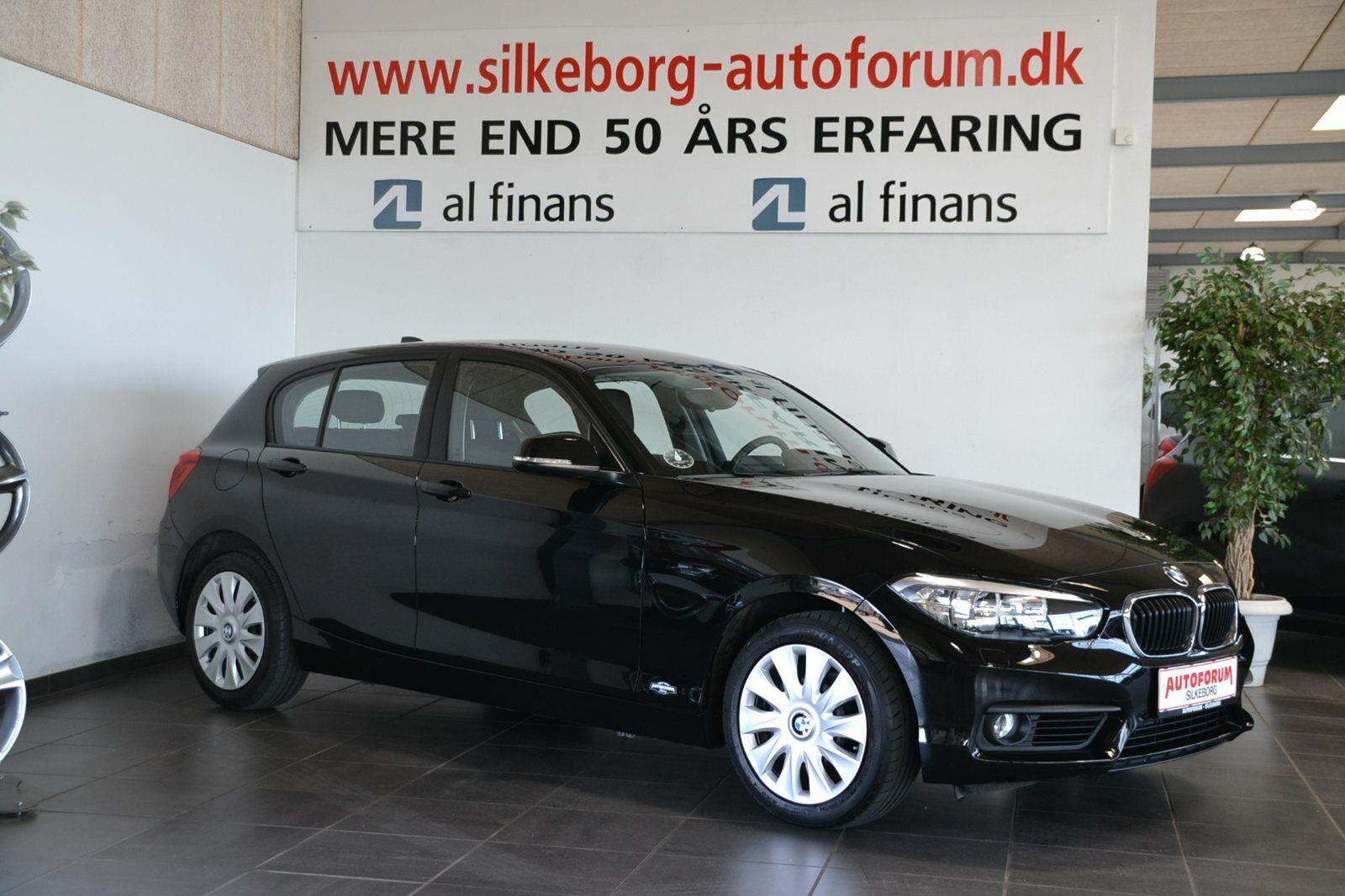 BMW 118d 2,0  5d - 219.900 kr.