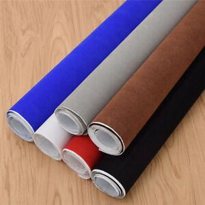 DIY-Kleidung-Tasche-Dekostoff-Basteln-Stoff-Selbstklebend-Samtgewebe-Mehrfarbig