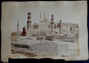 Photos-Egypte-Albumen-Bonfils-la-Citadelle-du-Caire-Bassins-de-Suez