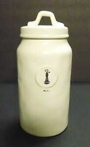 034-BRAND-NEW-034-Rae-Dunn-Mix-Tall-Canister-Jar-Artisan-Collection-By-Magenta