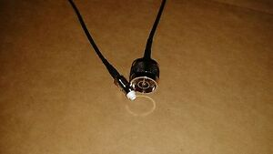 US MADE 50ft  RG-58  SMA Male to N Male 50 ohm Coax  Cable