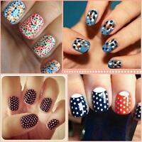 Marbleizing Dotting Manicure Tools Painting Pen Nail Art Paint 0525 5 Pcs 2 Way