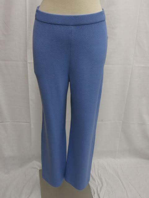 St John Collection NWT blue Flat Panel Pants 4 6  395