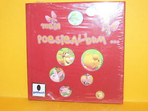 Goldbuch-Poesiealbum-034-mein-Poesiealbum-034-rot-Nr-41049-Neu-amp-Ovp