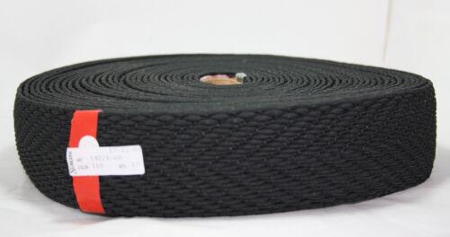 "60mm 2.25/"" BLACK Crochet ELASTIC WEBBING Craft//Hobby 25 METRES *NEW*"