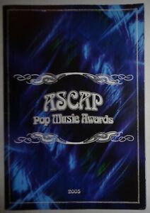 ASCAP-Pop-Music-Awards-2005-Souvenir-Program-Neil-Young-Jermaine-DuPri-et-al