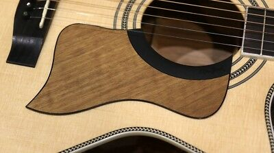 Pickguard For Acoustic Guitar Rosewood Semi Gloss