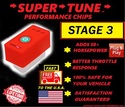 Stage 1 GTE Performance Chip ECU Programmer for CHEVROLET SILVERADO 2007-2013