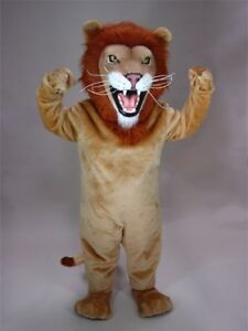 Details About African Lion Mascot Costume