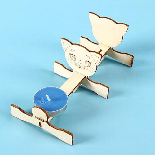 Kids Educational Science Experiment Technology Toy Set DIY Pinhole Imagin BH