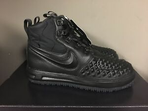 Details about NIKE LUNAR FORCE 1 DUCKBOOT '17 BlackAnthraciteBlack 922807 001 NEW 2017