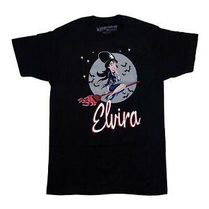 Kreepsville 666 Elvira Bewitched Comic Gothic Horror Mens Black T Shirt Size L