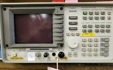 Agilent 8594e Opt 041 101 140 Portable Spectrum Analyzer 9 Khz To 29 Ghz