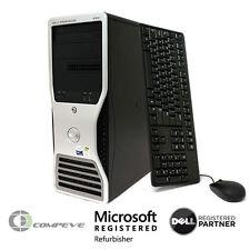 Dell Precision 490  Intel Xeon Quad Core E5345 1TB HDD Computer Desktop / PC