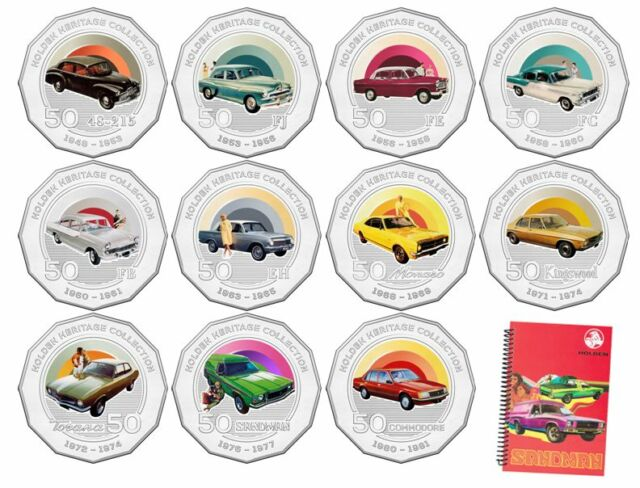 2016 RAM 50 cent UNC Coin Holden heritage collection FB