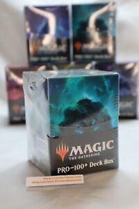 Deck Box for Magic The Gathering Ultra Pro Celestial Island PRO 100 Blue