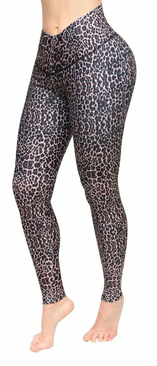 Bon Bon Up Women's Leggings with Internal Body Shaper ButtLifter Levantacola1084