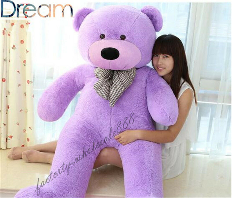 63  Giant Big Teddy Bear Pillow Plush Soft Toys Doll Stuffed Animal Gift viola