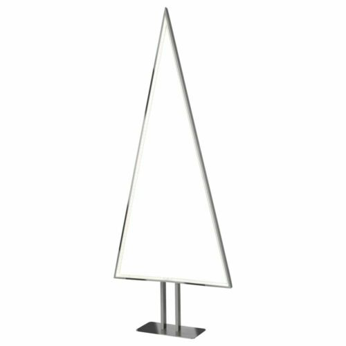 LED Stehleuchte Pine Tanne Weihnachten 1000 mm Silber