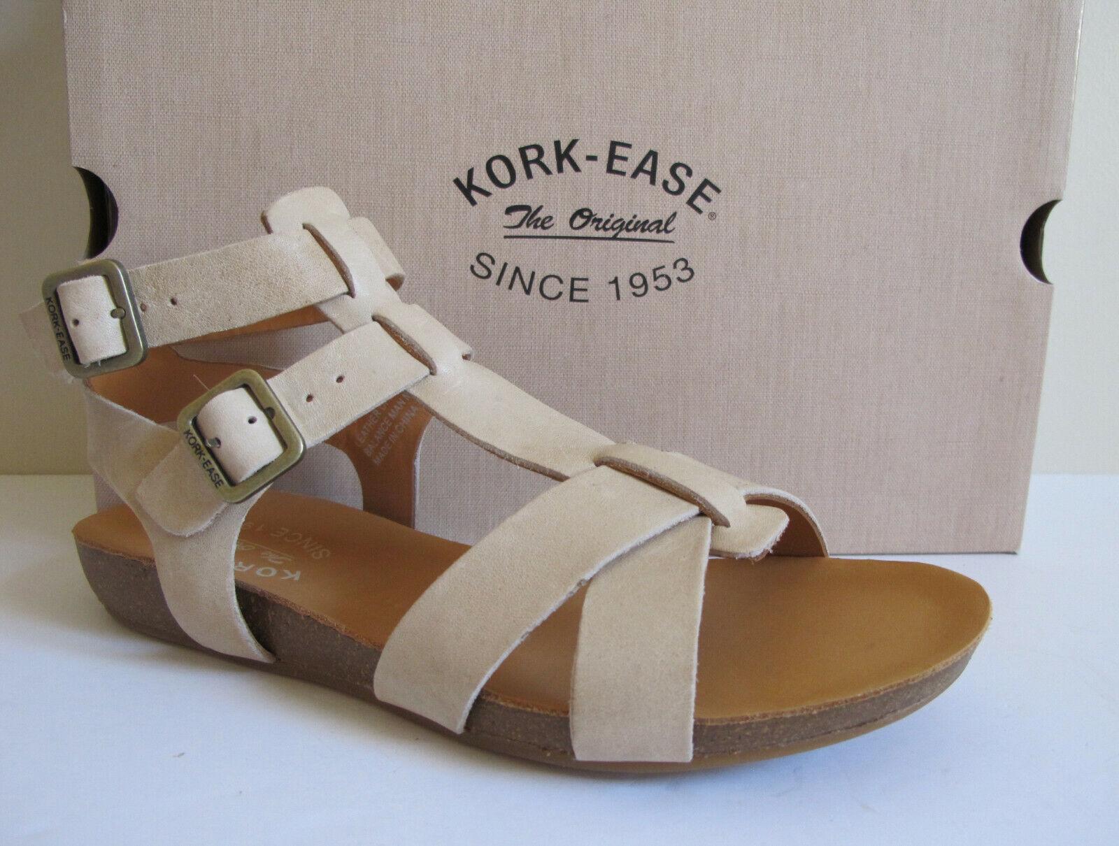NEW NEW NEW Kork Ease Doughty Gladiator Natural Leather Sandal 7 U.S., EUR 38 New In Box 0e9102