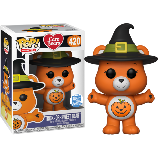Trick-or-Sweet Care Bear Halloween Funko Pop Vinyl New in Mint Box + Protector