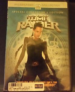 Details About Angelina Jolie As Lara Croft Tomb Raider Dvd 2001 Widescreen
