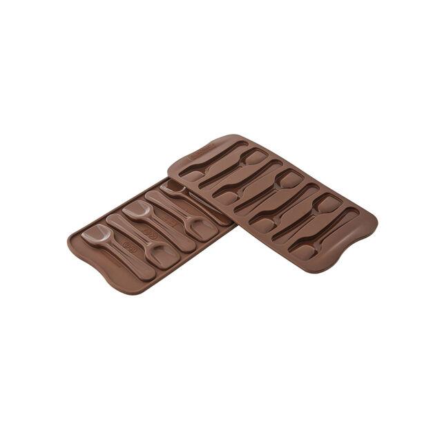 SILIKOMART STAMPO SILICONE CHOCO SPOONS CUCCHIAINI CAFFE/' CIOCCOLATA SCG028
