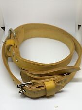 2 Bashlin Leather Linemen Pole Climbers Ankle Straps 28