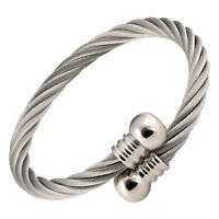 Magnetic Therapy Bracelet Pain Arthritis Golf Jewelry Stainless Steel Knob