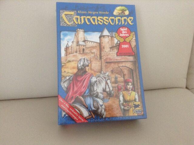 Carcassonne - ausgezeichnetes Legespiel,NEU  Spiel des Jahres 2001, Klaus-Jürg