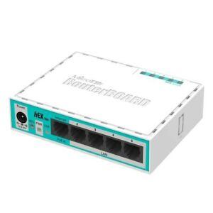 Mikrotik-Hex-Lite-RB750r2-Routeur-xLAN-5-64-Mo-RAM-850-MHz-CPU-Remplacer-RB750
