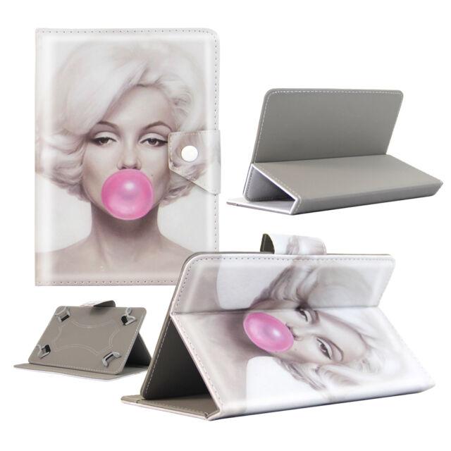 Housse Tablette Lenovo - 7 Pouces - Design Marilyn Bubble - Depart de France