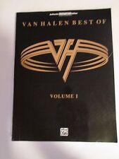 BEST of VAN HALEN Vol 1 Guitar Tab Sheet Music Book Chords Lyrics Songs