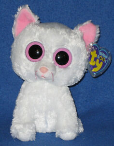 TY BEANIE BOOS - CASHMERE the CAT - MINT with MINT TAG - NEW