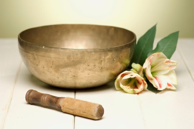 TIBETAN SINGING BOWLS MEDITATION CD - Relaxation, Meditation, Astral Projection