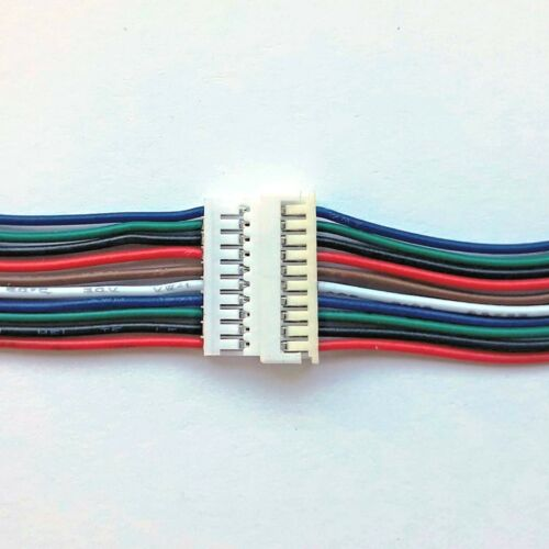 15cm Cable Sets UK Seller Micro JST 1.25mm 2//3//4//6//8//10 way Male /& Female 15cm