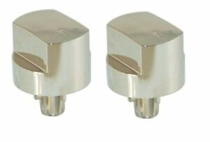 2-X-Silver-Hob-Oven-Switch-Knobs-For-Stoves-61EHDO-BL-61EHDO-ST-61EHDO-WH