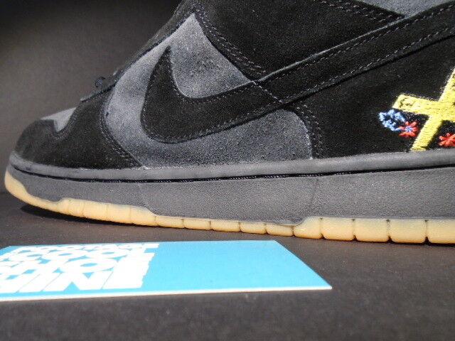 2002 Nike Dunk Low Pro SP RICHARD MULDER CHOCOLATE Noir SB ANTHRACITE gris  Noir CHOCOLATE 12 68a84c