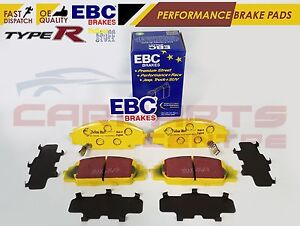 FOR-HONDA-CIVIC-TYPE-R-2-0-EP3-FN2-S2000-FRONT-EBC-YELLOW-STUFF-BRAKE-PADS