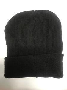 3d171dff2 NEW Mens' Beanie Winter Warm Cap Basic Black Knit Beanie Ski Hat ...