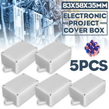 Waterproof Plastic Cover Project Electronic Case Enclosure Box 125x80x32mm YC/_gu
