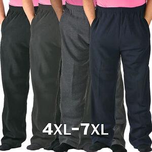ed033bbcbc43 Details zu HERREN Sporthose große Größen Winterhose Übergröße Freizeithose  WARM 4XL bis 7XL