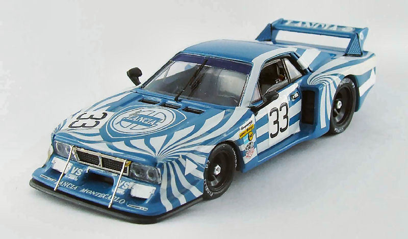 LANCIA BETA  33 WINNER 6 H Mugello 1980 Patrese/Cheever 1:43 Model Best MODELS